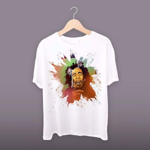 Graphics Bob Marley Face