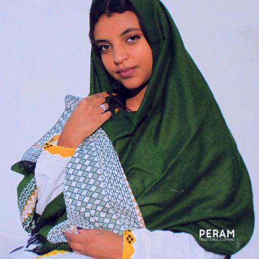 Traditional Green Scarf