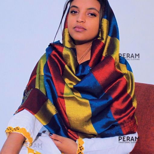 Traditional Colourful Scarf