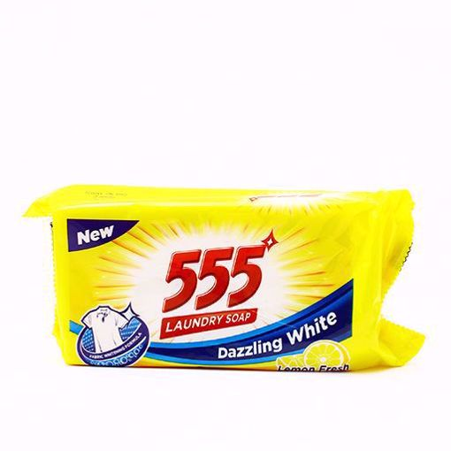 Picture of 555 Laundry Soap Yellow 250gm