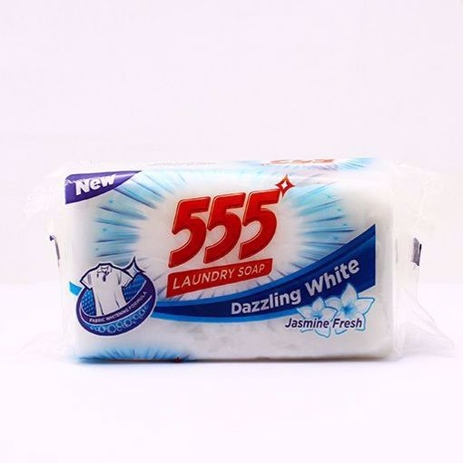 Picture of 555 Laundry Soap  White 250gm