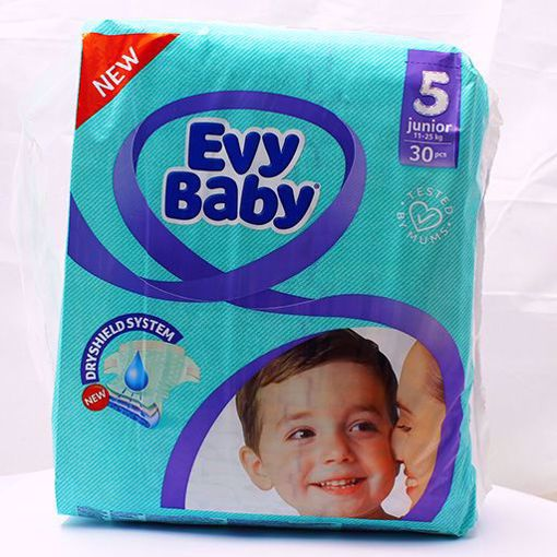 Picture of Evy Baby Creamy Diaper Junior Twin Pack 30pcs