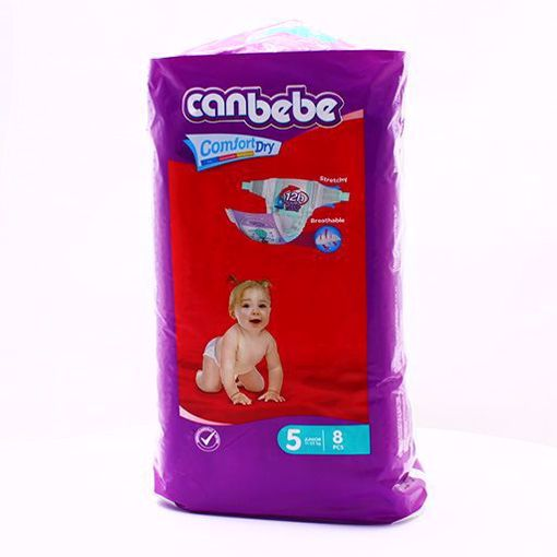 Picture of Canbebe Diapers Junior (11-25kg) #5 - 8pcs