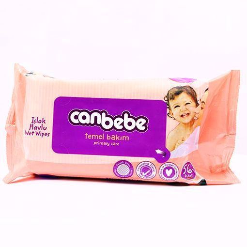 Picture of Canbebe Wet wipes (Classic) 56 pcs